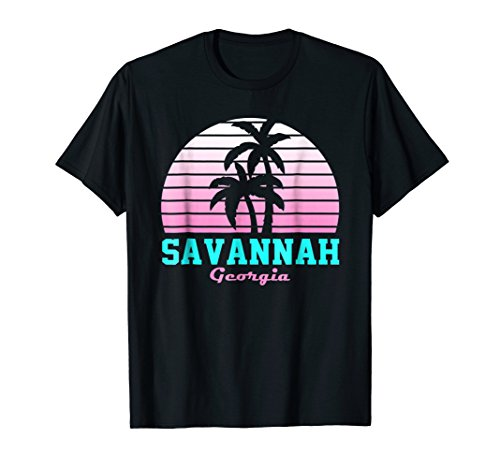 Savannah Georgia T Shirt Vintage GA Souvenirs (Best Of Savannah Ga)