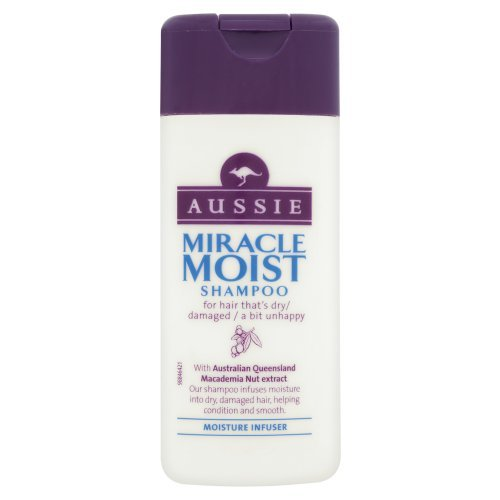 Aussie Miracle Moist Shampoo 75 ml Travel Pack (Pack of 24) by Aussie