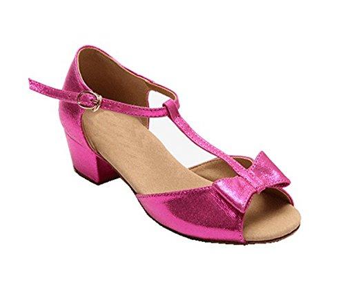 Miyoopark , Mädchen Tanzschuhe Rose-3.5cm Heel