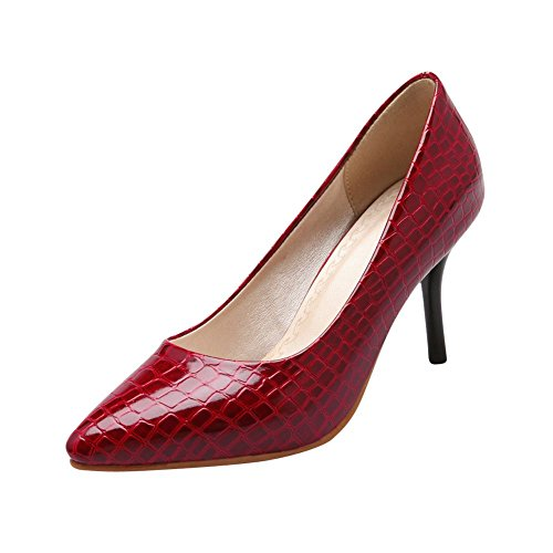 e3149cba1 Carolbar Women's Pointed-toe Crocodile Print Sexy Chic High Stiletto Heel  Dress Pumps Shoes 60