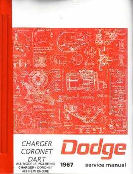 amazon com 1967 dodge charger coronet dart shop service manual by rh amazon com dodge journey shop manual 1968 dodge charger shop manual