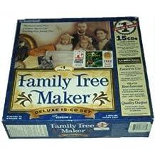 Family Tree Maker Deluxe 15-CD Set (Version 6)