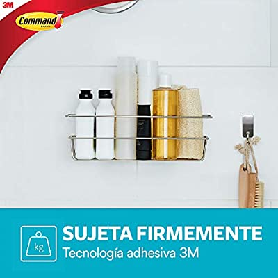 Command Shower Caddy With Adhesive Strip 3m Company