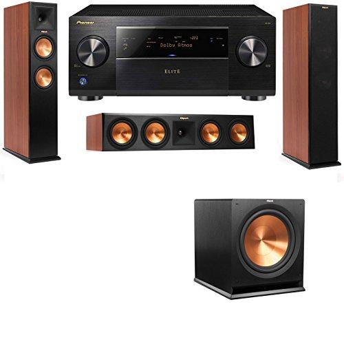 Klipsch RP-250F Tower Speakers CH-RP-440C-3.1-Pioneer Elite SC-85