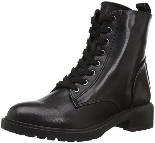 Black Women's Madden nero Combat 001 Officer Boot Steve wgpzqXFx