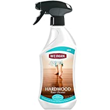 Weiman Hardwood Floor Cleaner – Surface Safe, No Harsh Scent, Safe for Use Around Kids and Pets, Residue Free – 27 oz. Trigger