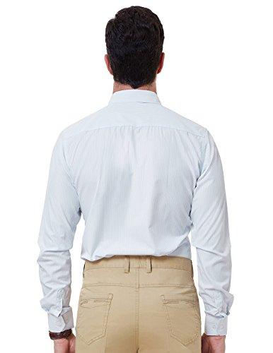 Blue Point JONES Dress Stripe Shirt Pinstripe Sleeve PAUL Pattern Long Collar Stylish Men's Pwqxwd0agO