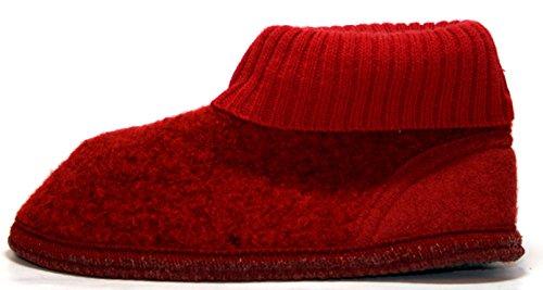 Haflinger , Chaussons pour fille Rouge Rouge 35