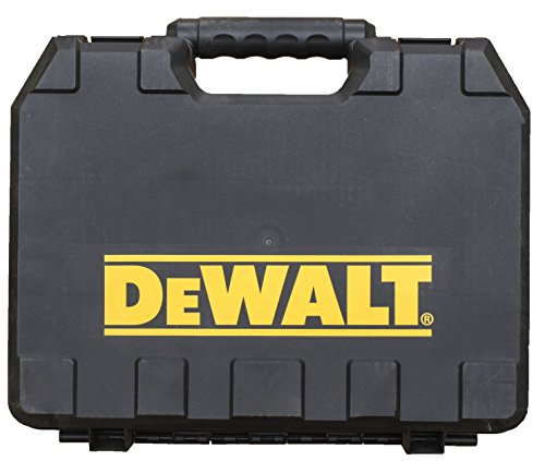 DeWalt Single Tool Hard Plastic Case with Integrated Handle in Retail Packaging by DEWALT
