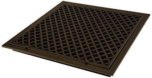 SteelCrest BTU20X20FFORB Bronze Series Designer Filter Return Vent with Hinged Door, Oil Rubbed Bronze by SteelCrest