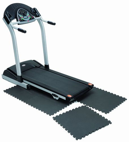 Marcy Interlocking Waterproof Flooring Mat for Exercise Equipment & Accessories MAT-20 by Marcy
