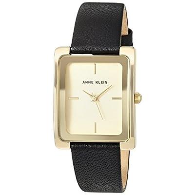 Anne Klein Women's Leather Strap Watch, AK/2706