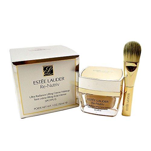 Estee Lauder Re-nutriv Ultra Radiance Lifting Creme Makeup Spf 15-4n1 for Women, Shell Beige, 1 Fluid Ounce