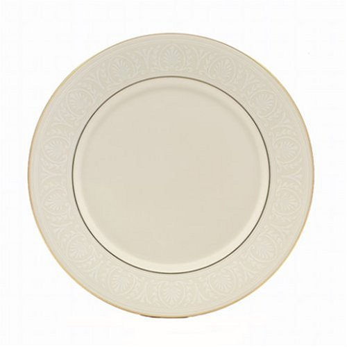 Lenox Courtyard Gold Ivory China Butter (Lenox Courtyard Gold Ivory China)