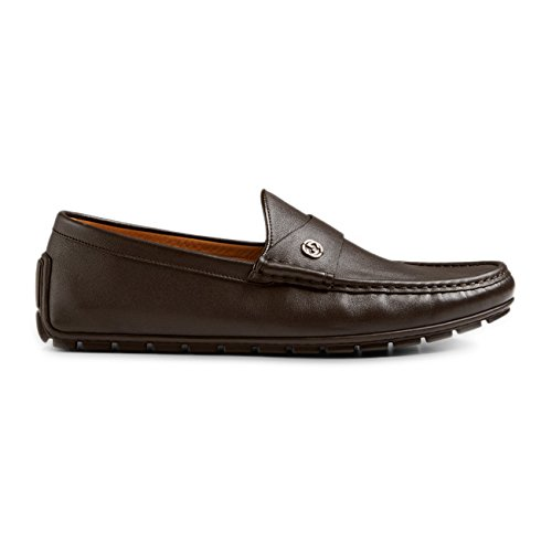 Gucci-Mens-Full-Bottom-Calf-Leather-Driver-Cocoa-Brown-386587