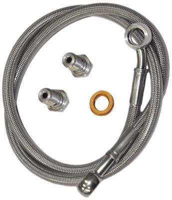 (Yana Shiki MSR7728 Stainless Steel Rear Brake Line Kit for Suzuki)