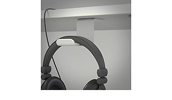 Soporte Auricular de bajo Mesa Gris: Amazon.es: Electrónica