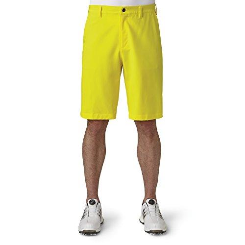 adidas Golf Men's Adi Ultimate Shorts, Vivid Yellow, 34