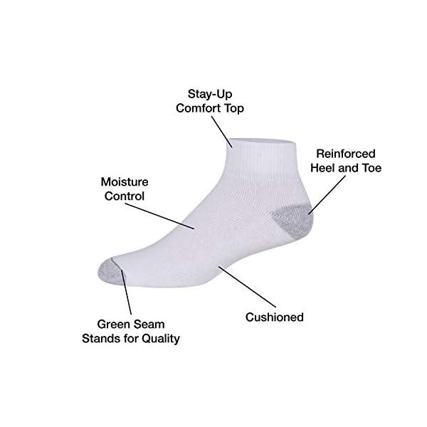 Burlington-Mens-Cotton-Quarter-Socks-Comfort-Power-10-Pack