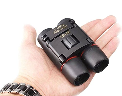 30x60 Compact Small Binoculars Powerful Folding Telescope With Clean Cloth...