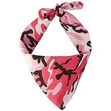 Beistle 60870-P Camo Bandana, 22 by 22-Inch, Pink