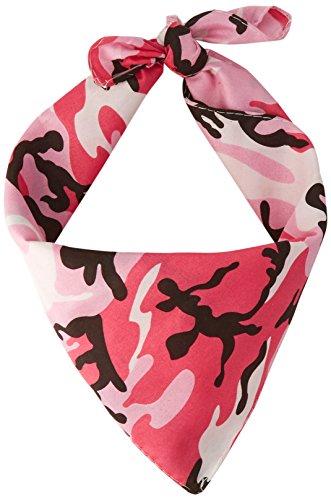 (Pink Camo Bandana Party Accessory (1)