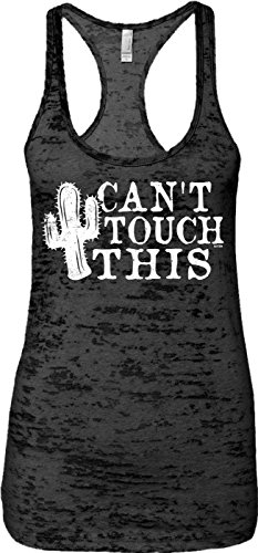 Blittzen Ladies Tank Can't Touch This - Cactus, S, -