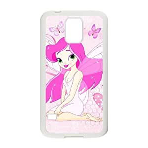 anime butterfly fairy Samsung Galaxy S5 Cell Phone Case White PSOC6002625556294