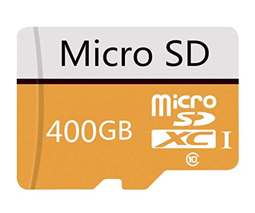400GB Micro SD Card High Speed Class 10 SDXC with Free SD Adapter, Designed for Android Smartphones, Tablets and Other Compatible Devices (400GB-b)