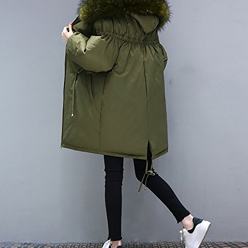 loose the coat paragraph 4 cotton Ms available cotton A colors optional in clothing Down Long jacket QFFL Size jacket w18x0qXx
