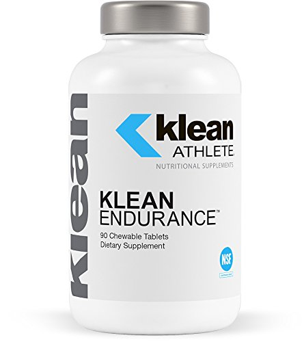 Klean Athlete – Klean Endurance – Helps Restore Energy, Support Cardiac Function and Reduce Muscle Fatigue – NSF Certified for Sport – Vanilla Crème Flavor – 90 Chewable Tablets