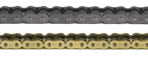 (EK Motor Sport 525 MVXZ Quadra X-Ring Chain - 150 Links - Gold , Chain Type: 525, Color: Gold, Chain Length: 150, Chain Application: Offroad)