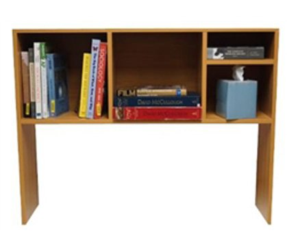 DormCo The College Cube - Desk Bookshelf - Beech Color by DormCo