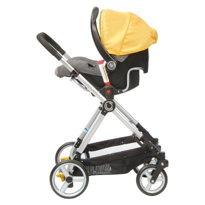 Contours Bliss 4-in-1 Stroller - Yellow - Travel System Stroller ...