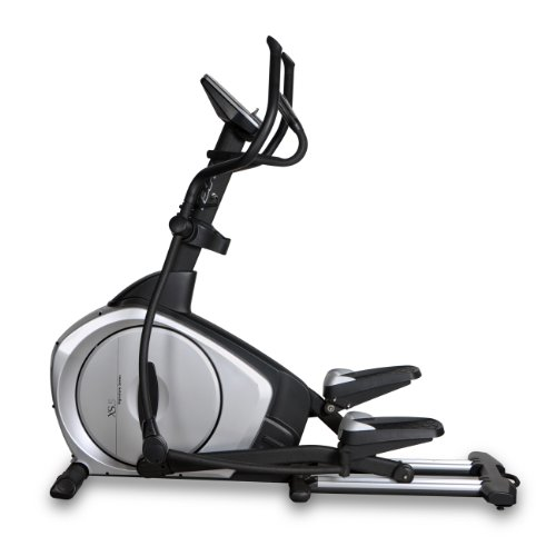 Bladez Fitness Elliptical - XS5 - A Total Body Workout And Natural Feel With An 20 Inch Stride For Maximum Comfort - Commercial Grade Quality - Easy To Read LCD Console Provides 12-Quick Start Preset Programs - 16 Levels Of Resistance