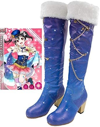 Cosstars LoveLive! Love Live Constellation Ver. Star Anime Cosplay Scarpe Shoes Stivali