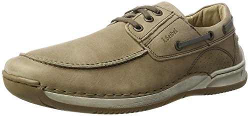 Josef Seibel Matthias 11, Zapatos de Cordones Derby para Hombre beige (beige)