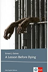 A Lesson Before Dying: Lekturen Englisch Paperback