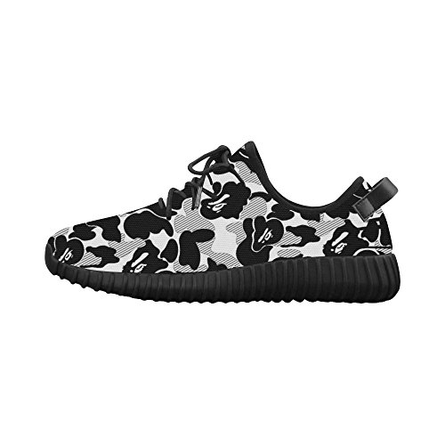 Black Ultra ADE N L Shoes Men's Woven Breathable US14 Camo A Bounce Y White Running wXCqF