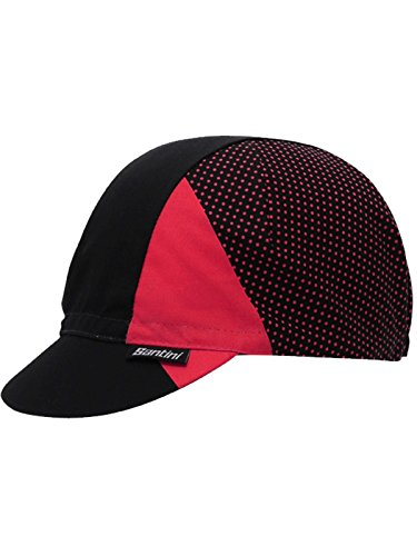 Santini Red 365 Cotton Cycling Cap (Default, Red) ()