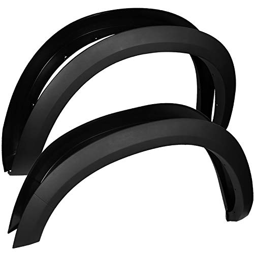 Carpartsinnovate For 09-18 Dodge Ram 1500 Pickup Factory OE-Style Fender Flare Wheel Protector Cover