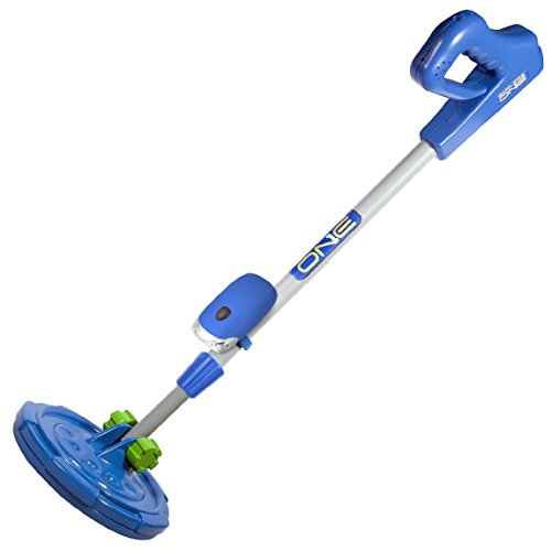EXPLORE ONE ExploreOne Metal Detector for Kids | Water Resistant, Light Weight, Adjustable Junior Metal Detector | Blue