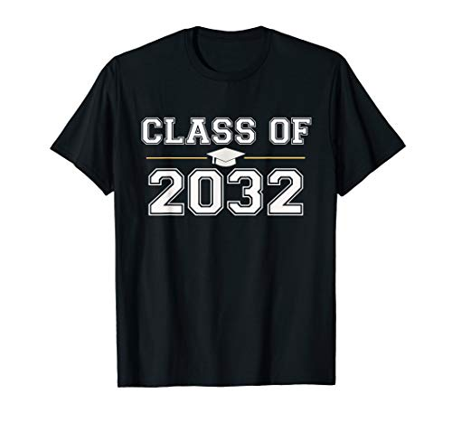 First Class T-shirt - Class of 2032 Grow With Me T-Shirt First Day of School