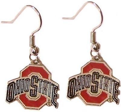 NCAA Ohio State Buckeyes Dangle Earrings