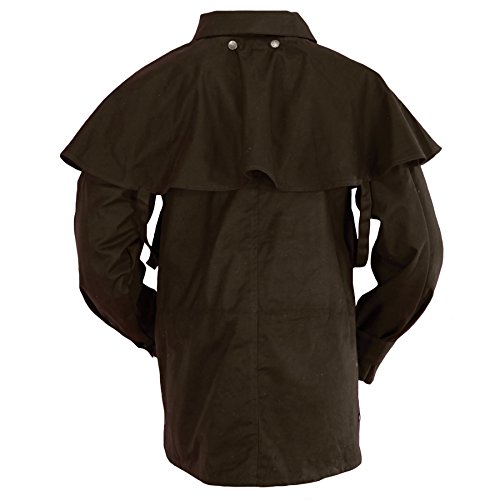Outback Trading Bush Ranger Jacket - Brown (MD) by Outback Trading (Image #2)