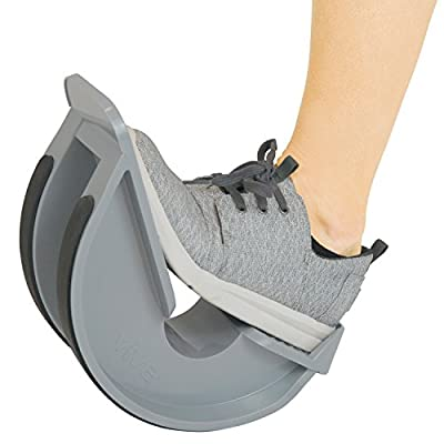 VIVE Foot Rocker - Calf Stretcher for Achilles Tendinitis, Heel, Feet, Shin Splint, Plantar Fasciitis Pain Relief - Stretches Strained Leg Muscle - Ankle Wedge Stretch Improves Flexibility (Single)
