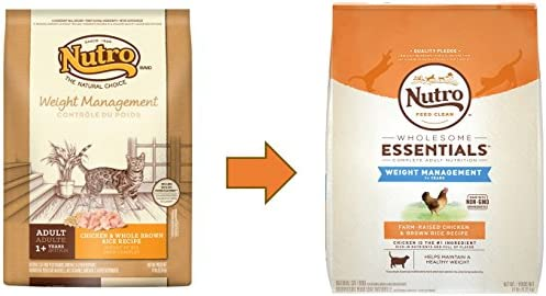 Nutro Wholesome Essentials Weight Management Dry Cat Food, Chicken 3