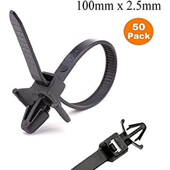 Pro Tie B8ftpm100 8 Inch Fir Tree Push Mount Cable Tie Uv