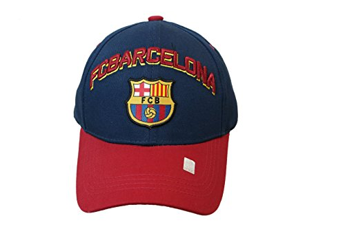 FC Barcelona Authentic Official Licensed Soccer Cap (Medium, FC Barcelona 1) ()