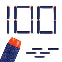 JouerNow 29-110-001-EC 100 Piece Darts Soft Refill Foam Bullet Pack for Nerf N-Strike Toy Gun, Blue